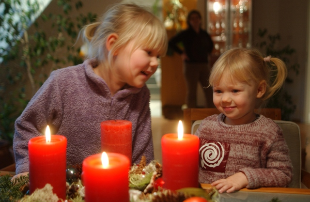 Advent-Kerzen-Provinzial